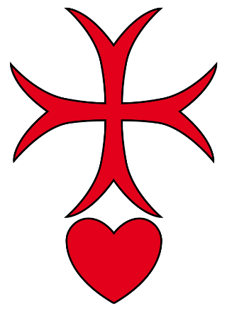 Knights of the Cross with red heart